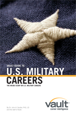 Vault Career Guide to U.S. Military Careers